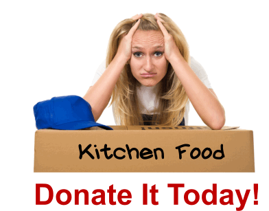 Donate Your Kitchen Food